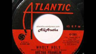 Aretha Franklin - Wholy Holy / Give Yourself To Jesus - 7″ - 1972