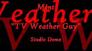 TV Weather Guy (Studio Demo)