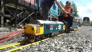 preview picture of video 'Train Adventures Short Film - Colne Valley Mini Rail Gala 25th May 2014'