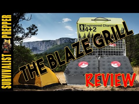 The Blaze grill Review (Off the Grid & Camping Cooking)
