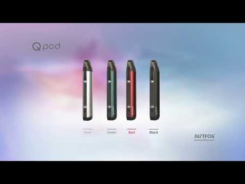 YouTube Video zu Justfog Qpod Starterset 1.9 ml 900 mAh
