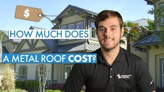 How is metal roofing prices