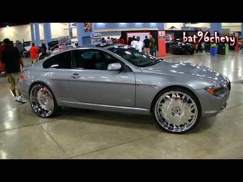 """BMW 6 SERIES Coupe on 26"""" Forgiatos Staggered Wheels - 1080p HD"""