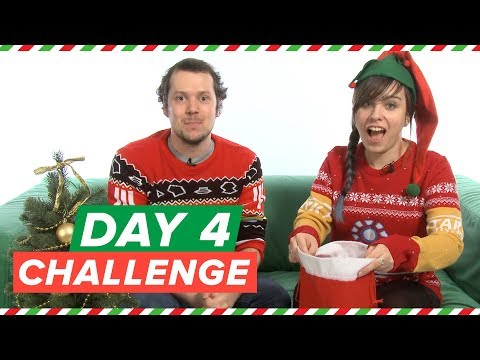 Xmas Challenge Day 4! Star Wars Battlefront 2 Yoda Lightsaber Chaos (Mike)