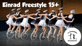 preview picture of video 'Einrad Freestyle Gruppenkür 15+ In the Navy 2.0'