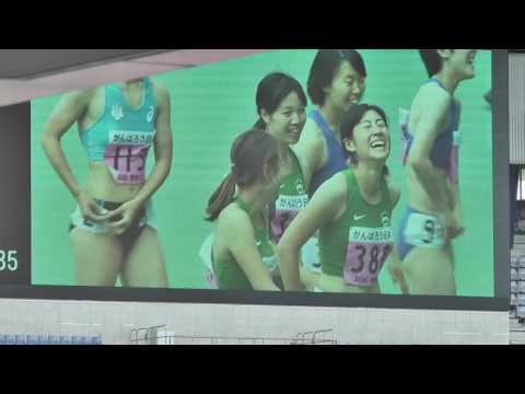 青山学院が表彰台独占!陸上関東インカレ女子100m