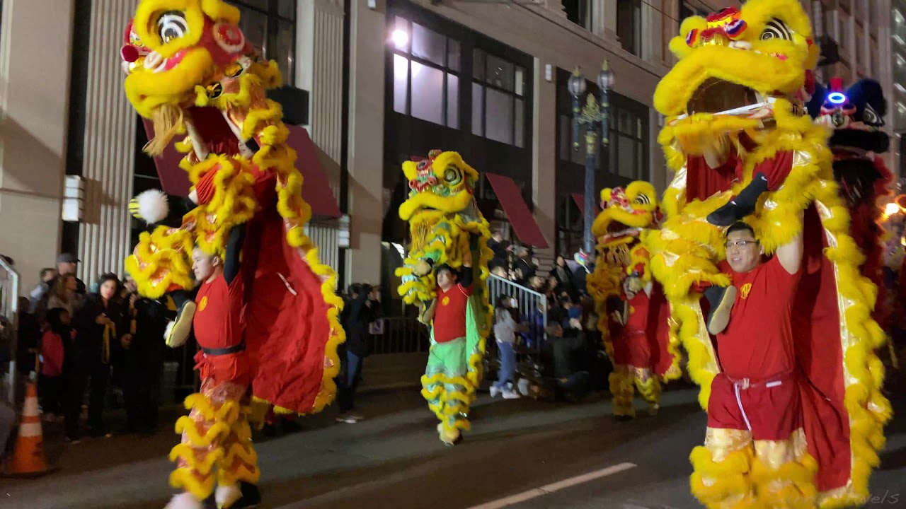 Chinese NY Year of the Ox on Parade
