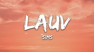 Lauv   Sims (Lyrics)