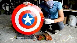 Homemade Heavy Duty Captain America SHIELD !?