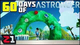 Giant Wreath ! Challenge #2 60 Days of Astroneer | Z1 Gaming
