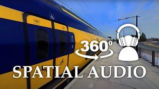 360 Spatial Audio Demo - Train (Must use headphones)