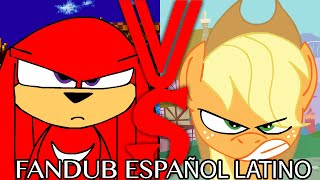 The End Is Fourever 1/4: Knuckles Vs Applejack (Fandub Español Latino)