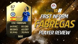 FIFA 17: IF Fabregas (87) Player Review + In Game Stats