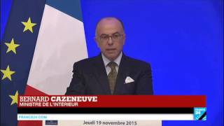 REPLAY - Discours de Bernard Cazeneuve après la mort d'Abdelhamid Abaaoud