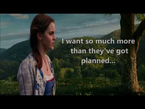 Beauty and the Beast 2017 - Belle (Reprise) LYRICS