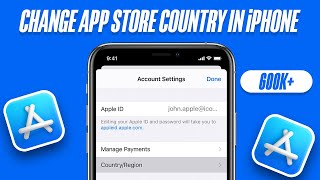 how to change store in iphone how to change app country region in iphone or 6192