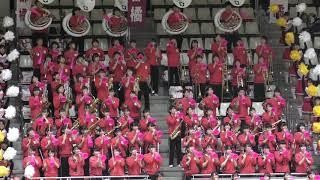 京都橘高校吹奏楽部2019春高バレー京都大会応援演奏