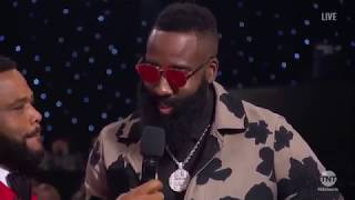 """All """"Roasting"""" Moments From The 2018 NBA Award"""