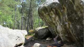 preview picture of video 'summer series #1 // Bouldering in Fontainebleau // Bloc à Fontainebleau // Alban Besnier'