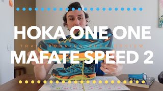 Hoka One One Mafate Speed 2 Trail Running Shoe Review | Long Term Review