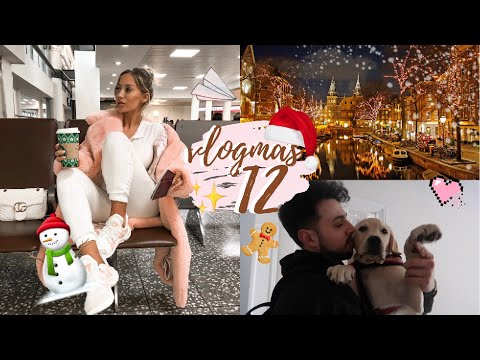 ARRIVING IN AMSTERDAM | VLOGMAS DAY 12 Mp3