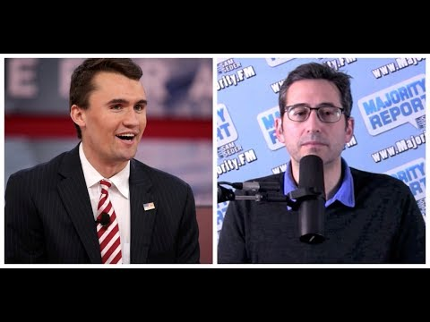 Charlie Kirk VS Sam Seder from the Majority Report Debate at Politicon
