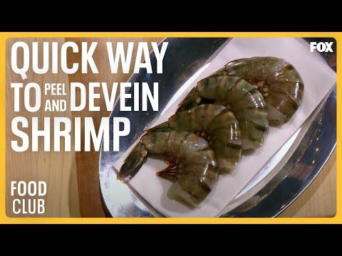 Gordon Ramsay Demonstrates A Quick Way To Peel And Devein Shrimp   TASTE OF FOX