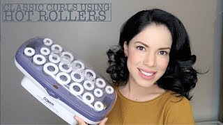 How To Use Hot Rollers To Get Classic Curls