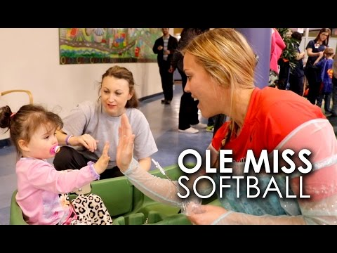 Video: UM softball brings fun, tiaras to Batson
