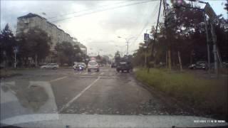 ГАИ в действии город Арсеньев Приморский край