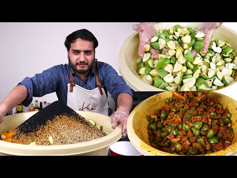 Traditional Mango Pickle Recipe (3year Life)