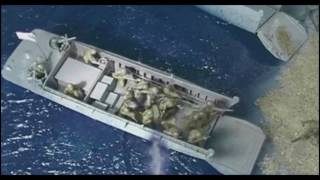 WW2 D-Day Normandy Invasion Stop Motion Army Men Remastered