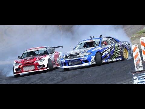 フォーミュラドリフトジャパン 第3戦スポーツランドSUGO 予選ドリフト動画