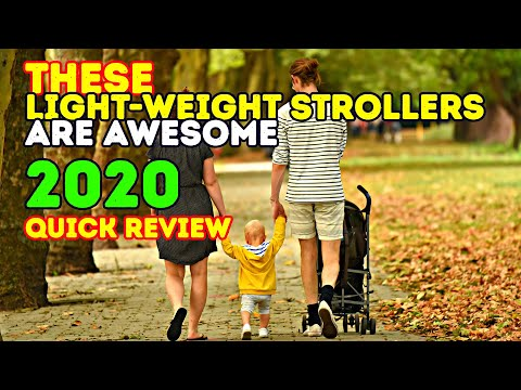 Review: Best Strollers 2018 – Top 10 Lightweight Baby Strollers