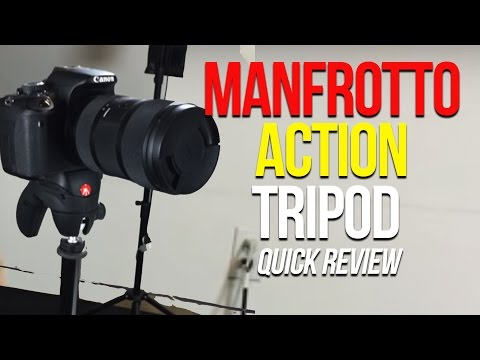 Manfrotto Action Tripod Quick Review
