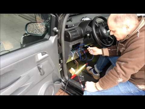 Einbau einer Funk Zentralverriegelung in einen VW Fox