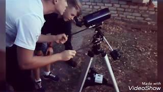 Очередная поездка в спецшколу - работа с БПЛА и телескопами