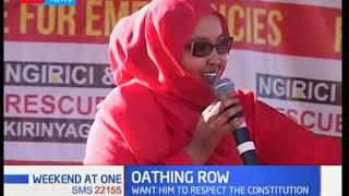 Wajir Woman Rep Fatuma Gedi And Wangui Ngirichi Call Upon NASA Leaders To Respect Constitution