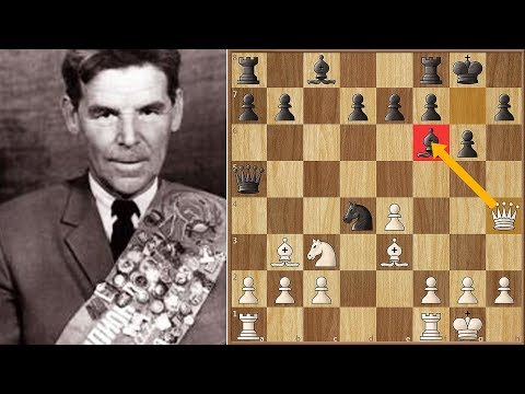 Le plus grand sacrifice de la Dame | Nezhmetdinov vs Chernikov (1962)