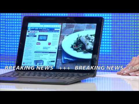 "TOUCHLET 10,1""-Tablet-PC XWi10.twin mit IPS-Display und Windows 8.1"