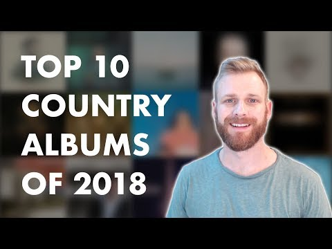 Top 10 Country Albums of 2018
