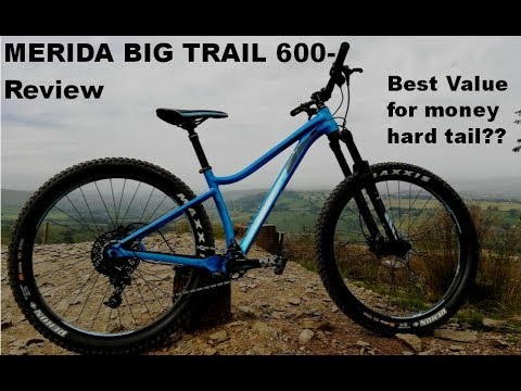 Merida Big Trail 600 Review/ Overview and test ride - One Planet adventure Llandegla- GOPRO