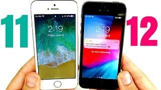 iPhone 5S iOS 11 vs iPhone 5S iOS 12 Speed Test!