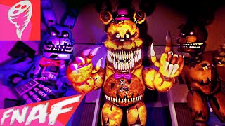 (SFM FNAF) FIVE NIGHTS AT FREDDY'S 4 SONG (Break My Mind) Music Video by DAGames