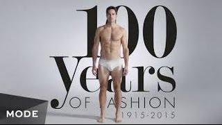 100 Years Of Men's Swimwear In 3 Minutes ★ Mode.com HD