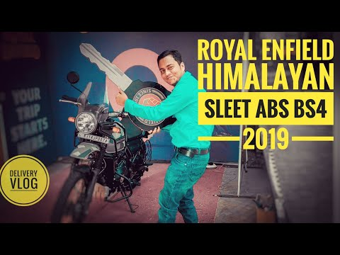 Royal Enfield Himalayan Sleet ABS BS4 2019 Delivery in