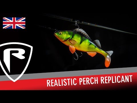 Fox Rage Replicant Realistic Perch 10cm 20g Super Natural Perch