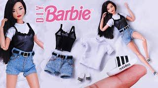 Barbie DIY Clothes & Shoes Adidas