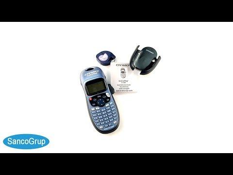 Etichetator/masina de etichete Dymo LetraTag LT-100H Plus, suport magnetic, S0884020 S0883990 S0901180 19757