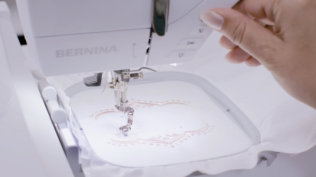 BERNINA 700 Tutorial 3/3: Pinpoint Placement